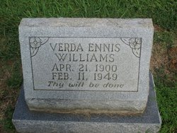 Verda Ennis Williams