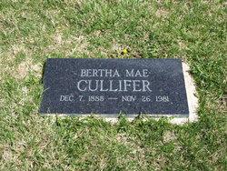 Bertha Mae <I>Humphrey</I> Cullifer