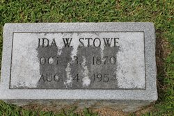 Ida Lee <I>Willis</I> Stowe