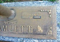 Geneva I. <I>May</I> Hamlett