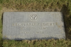 Leonard L Biery