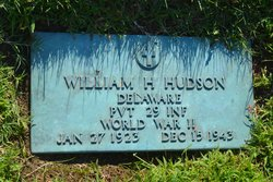 Pvt William Henry Hudson