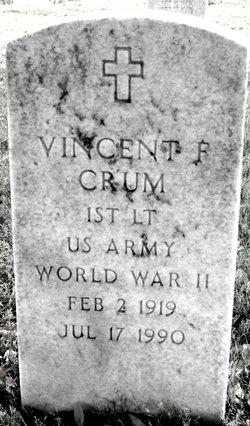 Vincent F Crum