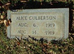 Alice Culberson
