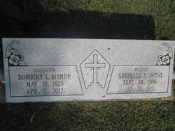 Dorothy Lee <I>Owens</I> Bishop