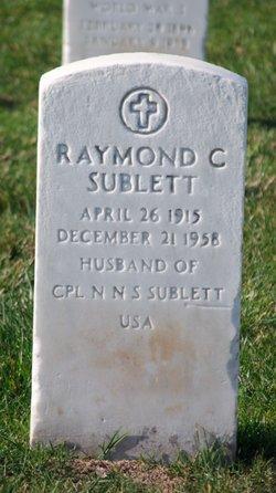 Raymond C Sublett