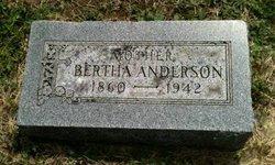 Bertha <I>Sorem</I> Anderson