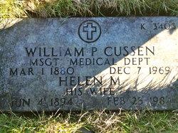William P Cussen