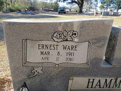 """Ernest Ware """"E. W."""" Hammons"""
