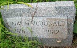 Sadie Matilda <I>Knepp</I> McDonald