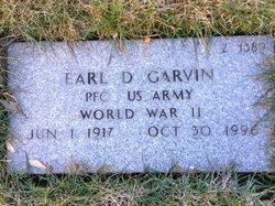 Earl D Garvin