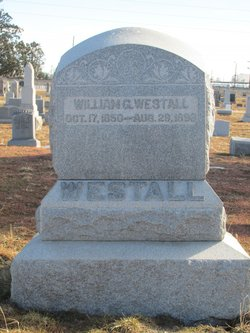 "William G. ""Billy"" Westall"