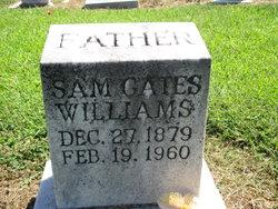 "Samuel Gates ""Sam"" Williams"