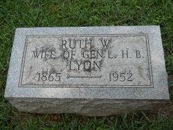 Ruth <I>Wolfe</I> Lyon