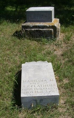 "Marilda May ""Margarette"" <I>McMillan</I> Flathers"