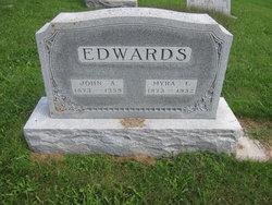 Myra Lydia <I>Holaday</I> Edwards