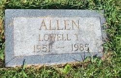 "Lowell Thomas ""Bobe"" Allen"