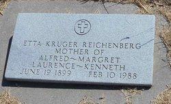 Oktje Etta <I>Kruger</I> Reichenberg