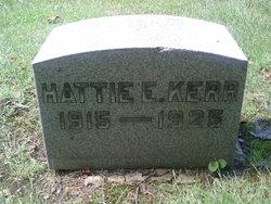 Hattie E. Kerr