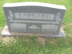 Barbara <I>Waters</I> Barnard