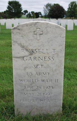 Russell T Garness