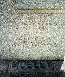 Alice A <I>Boyd</I> Mobley