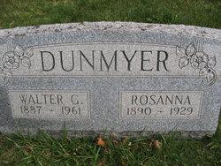 """Rosina A """"Rosy"""" <I>Pletcher</I> Dunmyer"""