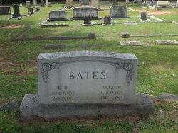 Lula Westcott <I>Wise</I> Bates