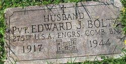 Pvt Edward J Boltz