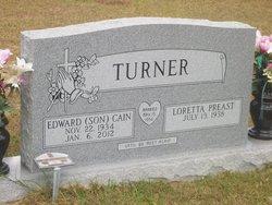 """Edward Cain """"Son"""" Turner"""