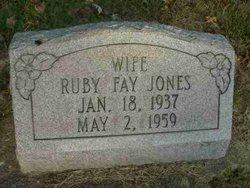 Ruby Fay <I>Van Pelt</I> Jones