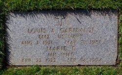 Marie Elizabeth <I>Desmond</I> Garibaldi