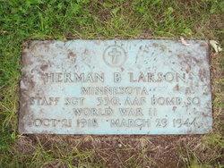 SSGT Herman B Larson