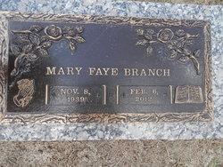 Mary Faye Branch