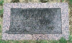 Trudy <I>Davis</I> Redfern