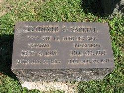 Leonard George Farrell