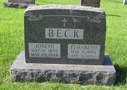 Elizabeth Ida <I>Adrian</I> Beck