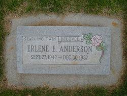 Erlene E <I>Starring</I> Anderson