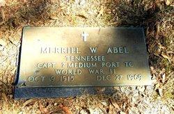 Merrill William Abel