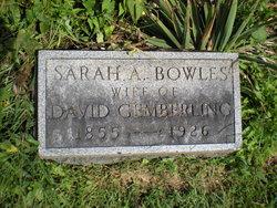 Sarah A <I>Bowles</I> Gemberling
