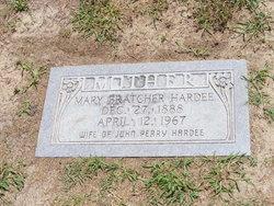 Mary Elizabeth <I>Bratcher</I> Hardee