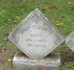 Mary Elizabeth <I>Preston</I> Hayes