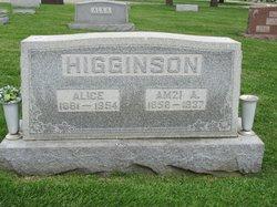 Alice <I>Kimbrel</I> Higginson