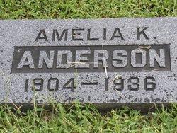 Amelia Katherine <I>Pratz</I> Anderson
