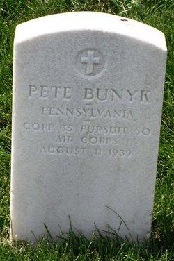 Corp Pete Bunyk