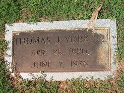 "Thomas Jefferson ""Tom"" York Jr."