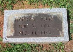 Harry Frankin York