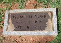 Elijah Marcus York