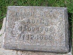 Carrie Bell <I>Metcalf</I> Adams
