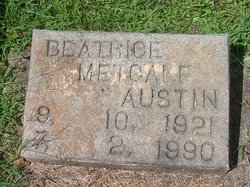 Beatrice <I>Metcalf</I> Austin